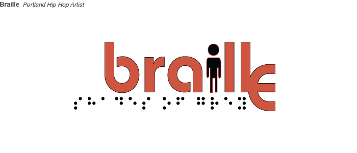 Braille logo