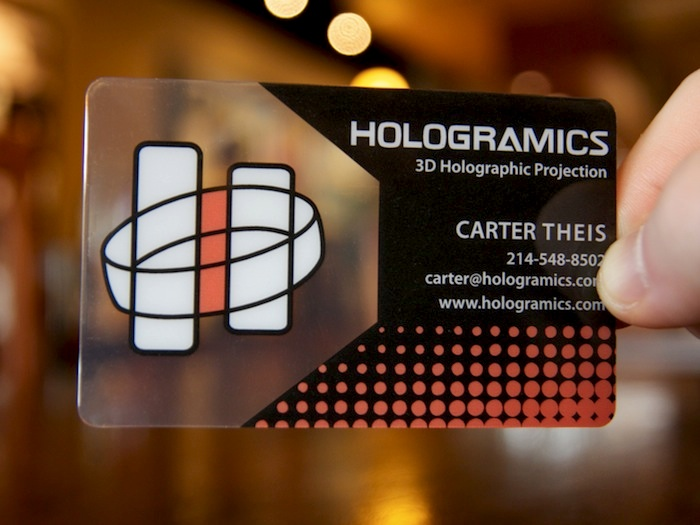Carter theis clear plastic business card the colourmoves